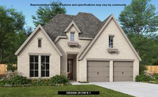 Pecan Square 50' by Perry Homes in Dallas Texas