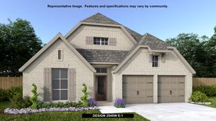 2545W - The Grove at Vintage Oaks 55': New Braunfels, Texas - Perry Homes