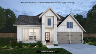 2545W - Grand Central Park 50': Conroe, Texas - Perry Homes