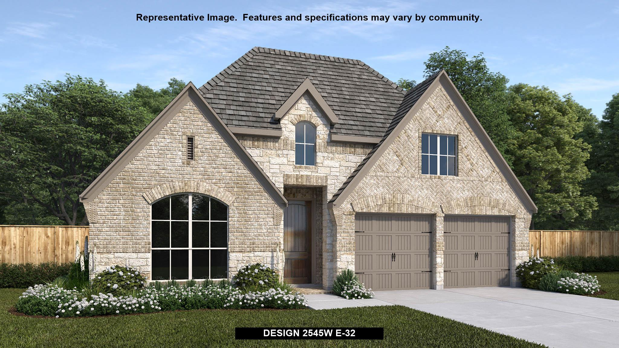 Exterior featured in the 2545W By Perry Homes in Houston, TX