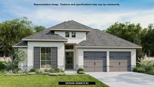 2545W - Balmoral 50': Humble, Texas - Perry Homes