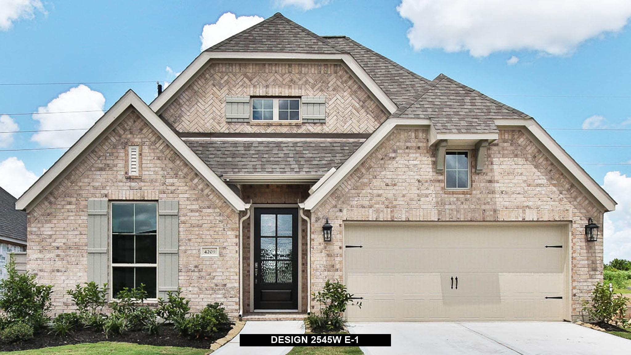 Exterior featured in the 2545W By Perry Homes in San Antonio, TX