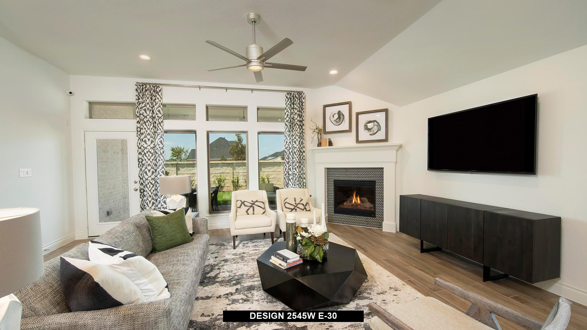 Living Area featured in the 2545W By Perry Homes in San Antonio, TX