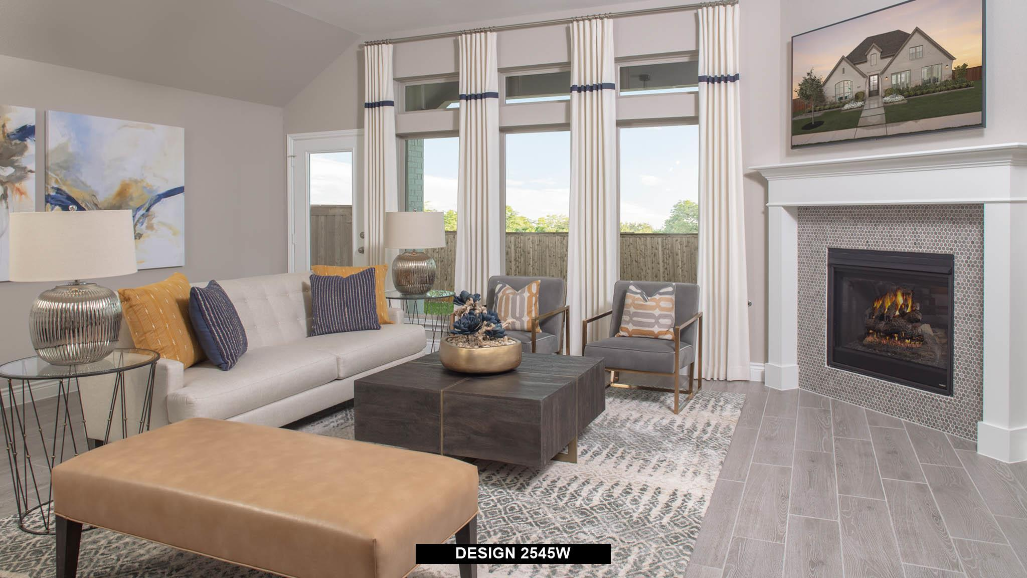 Living Area featured in the 2545W By Perry Homes in Dallas, TX