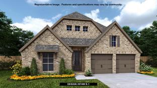 2574W - Del Bello Lakes 50': Manvel, Texas - Perry Homes