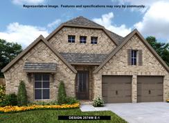 2574W - Santa Rita Ranch 50': Liberty Hill, Texas - Perry Homes