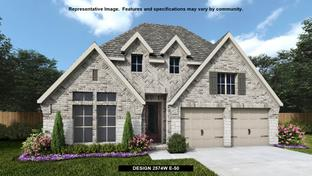 2574W - Mustang Lakes 50': Celina, Texas - Perry Homes