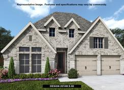 2574W - Prairie Oaks 50': Little Elm, Texas - Perry Homes