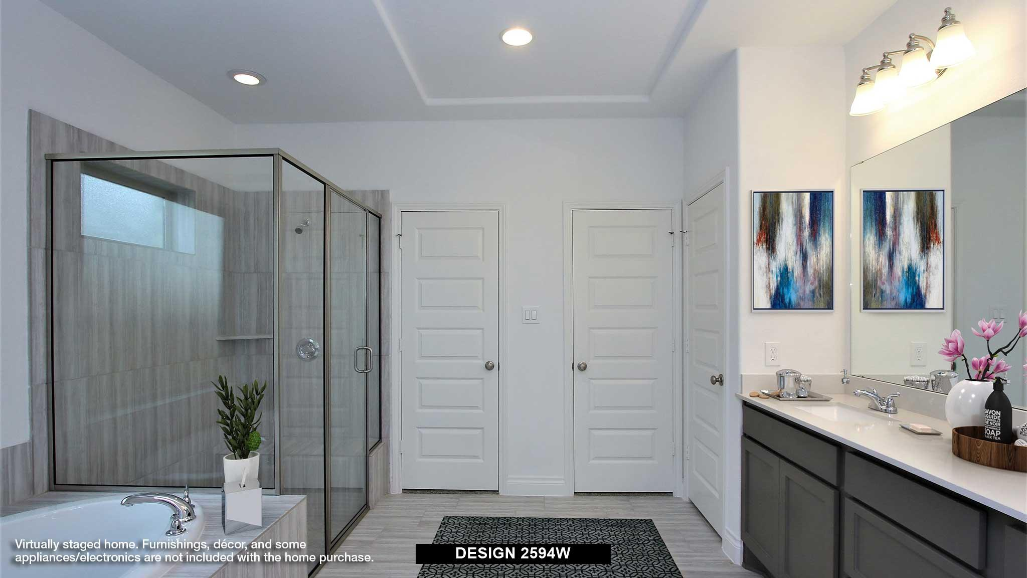 Bathroom featured in the 2594W By Perry Homes in Dallas, TX