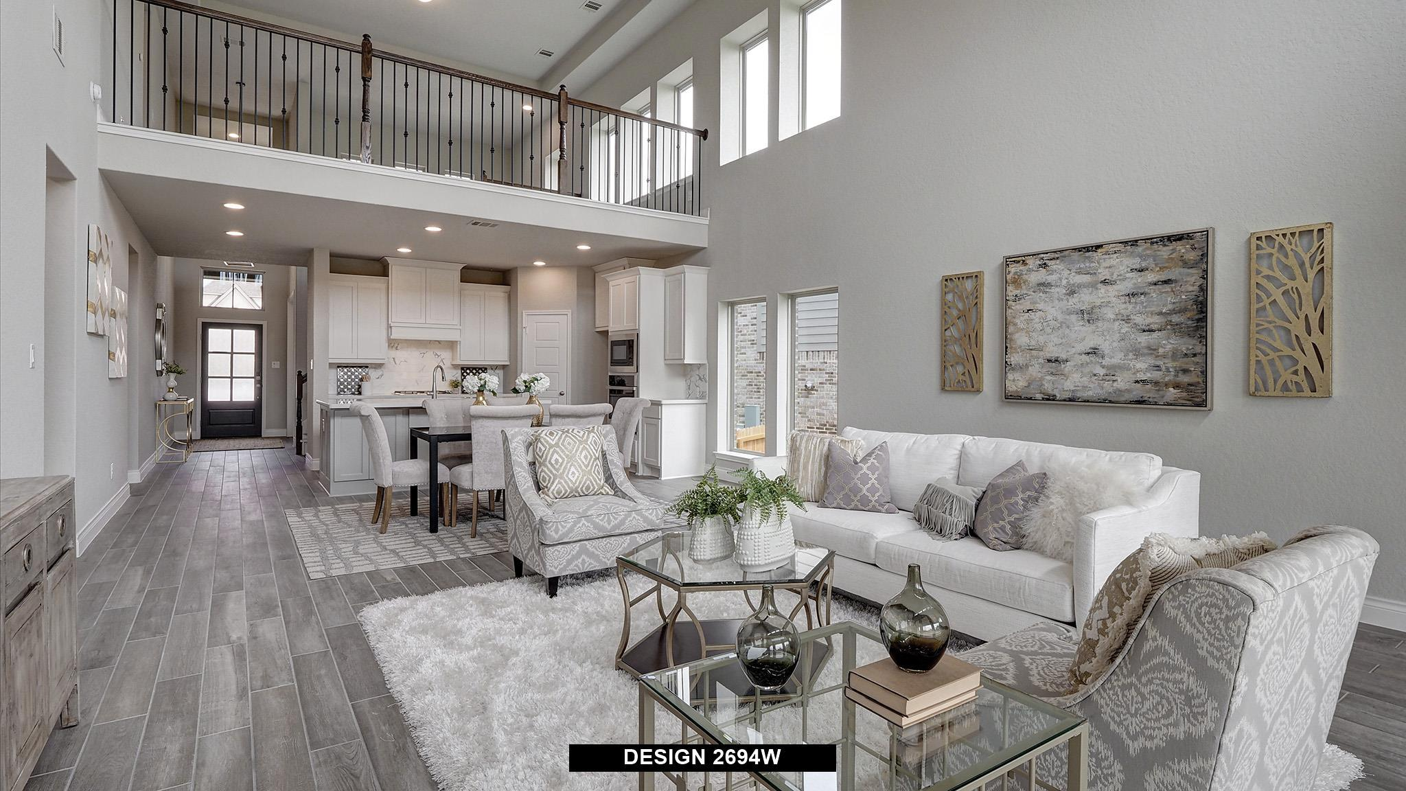 Living Area featured in the 2694W By Perry Homes in Dallas, TX