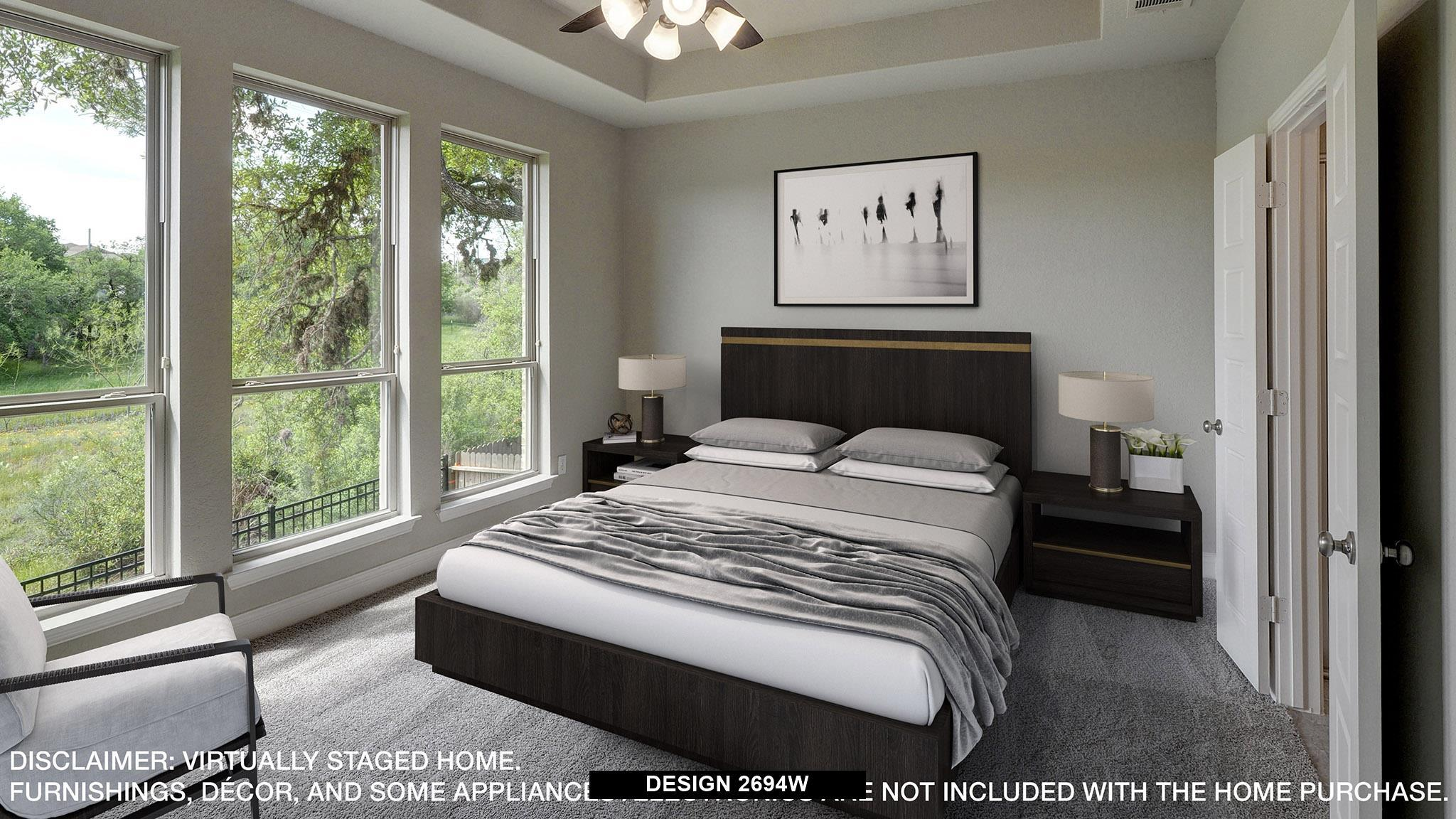 Bedroom featured in the 2694W By Perry Homes in Dallas, TX