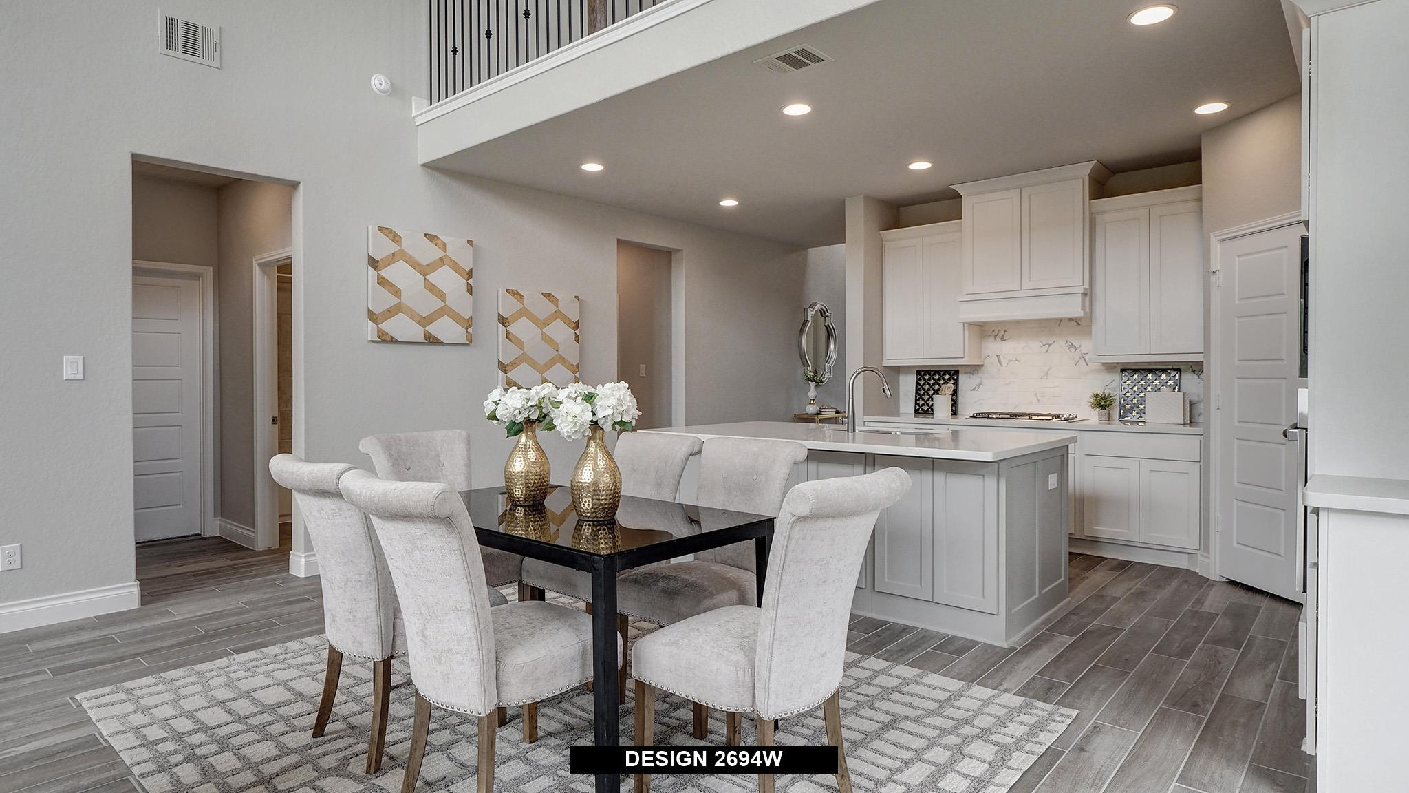 Kitchen featured in the 2694W By Perry Homes in Dallas, TX