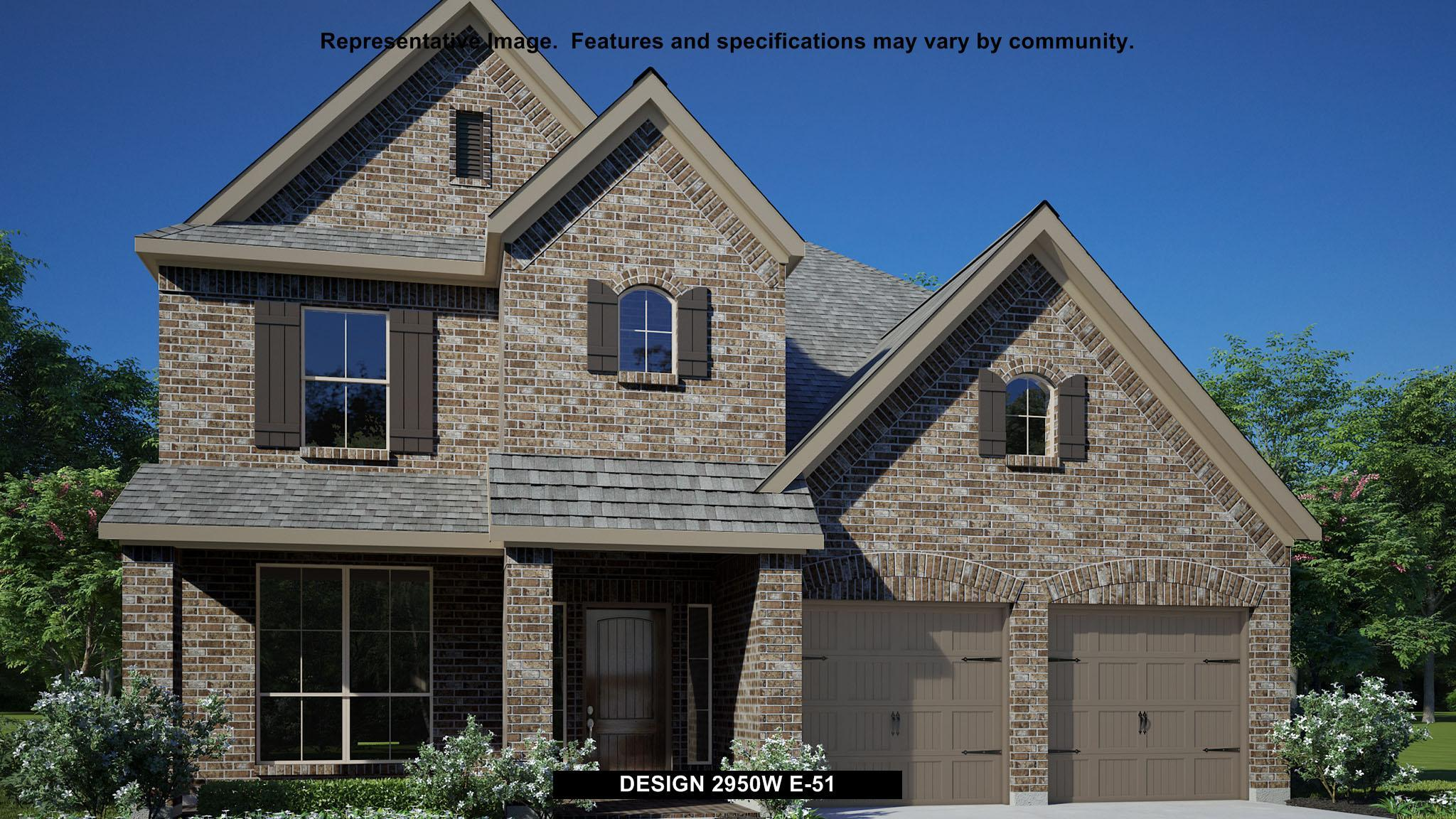Exterior featured in the 2950W By Perry Homes in Houston, TX