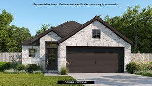 1722W - Woodforest 40' - The Crest: Montgomery, Texas - Perry Homes