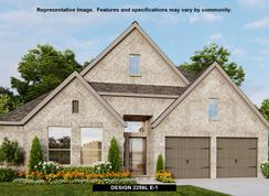 2256L - Villas of Somercrest 55': Midlothian, Texas - Perry Homes