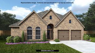 2543L - Villas of Somercrest 55': Midlothian, Texas - Perry Homes