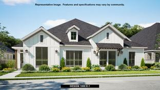 1800 - Walsh Townhomes: Fort Worth, Texas - Perry Homes