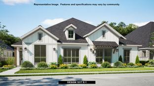 1817 - Walsh Townhomes: Fort Worth, Texas - Perry Homes