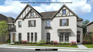 1915 - Walsh Townhomes: Fort Worth, Texas - Perry Homes