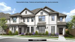 2189 - Walsh Townhomes: Fort Worth, Texas - Perry Homes