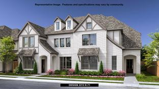 2213 - Walsh Townhomes: Fort Worth, Texas - Perry Homes