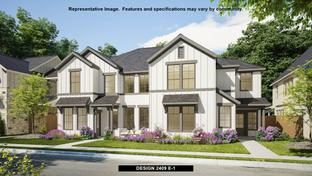 2409 - Walsh Townhomes: Fort Worth, Texas - Perry Homes