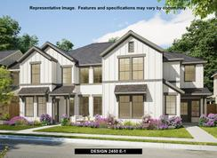 2450 - Walsh Townhomes: Fort Worth, Texas - Perry Homes