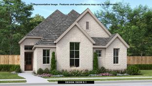 1503W - Palmera Ridge 40': Leander, Texas - Perry Homes