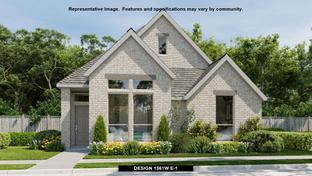 1561W - Palmera Ridge 40': Leander, Texas - Perry Homes