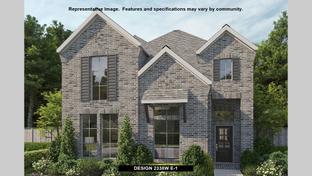 2338W - Palmera Ridge 40': Leander, Texas - Perry Homes