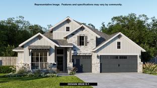 2953E - Easton Park 60': Austin, Texas - Perry Homes