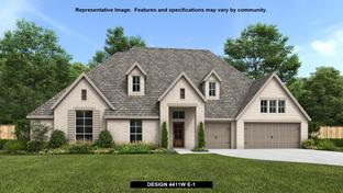 4411W - Santa Rita Ranch 90': Liberty Hill, Texas - Perry Homes