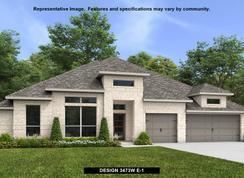 3473W - Johnson Ranch 85': Bulverde, Texas - Perry Homes
