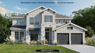 3412E - Easton Park 60': Austin, Texas - Perry Homes