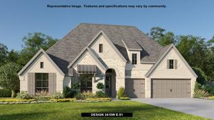 3410W - Johnson Ranch 85': Bulverde, Texas - Perry Homes