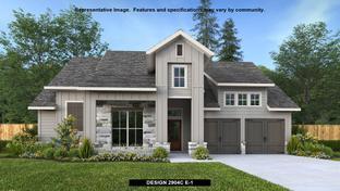 2904C - Bryson 60': Leander, Texas - Perry Homes