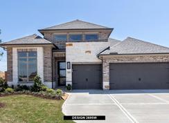 2695W - Elyson 55': Katy, Texas - Perry Homes