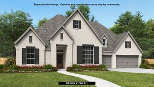 4179W - Canyon Falls 80'/100': Northlake, Texas - Perry Homes