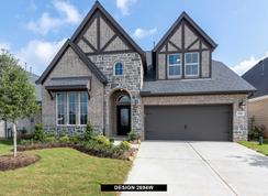 2694W - Cane Island 50': Katy, Texas - Perry Homes