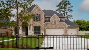 3650W - Harper's Preserve 60': Conroe, Texas - Perry Homes