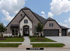3578W - Cane Island 80': Katy, Texas - Perry Homes