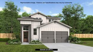 2412W - Candela 40': Richmond, Texas - Perry Homes