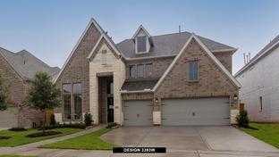 3393W - Candela 60': Richmond, Texas - Perry Homes