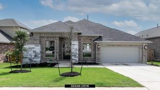 3257W - 6 Creeks 60': Kyle, Texas - Perry Homes
