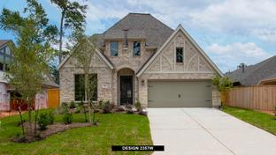 2357W - Grand Central Park 50': Conroe, Texas - Perry Homes