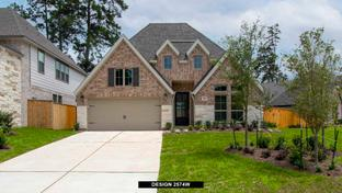 2574W - Grand Central Park 50': Conroe, Texas - Perry Homes