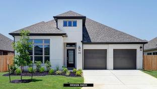 2443H - The Village of Mill Creek 50': Seguin, Texas - Perry Homes