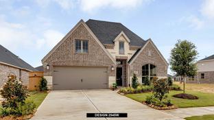 2545W - Cross Creek Ranch 50': Fulshear, Texas - Perry Homes