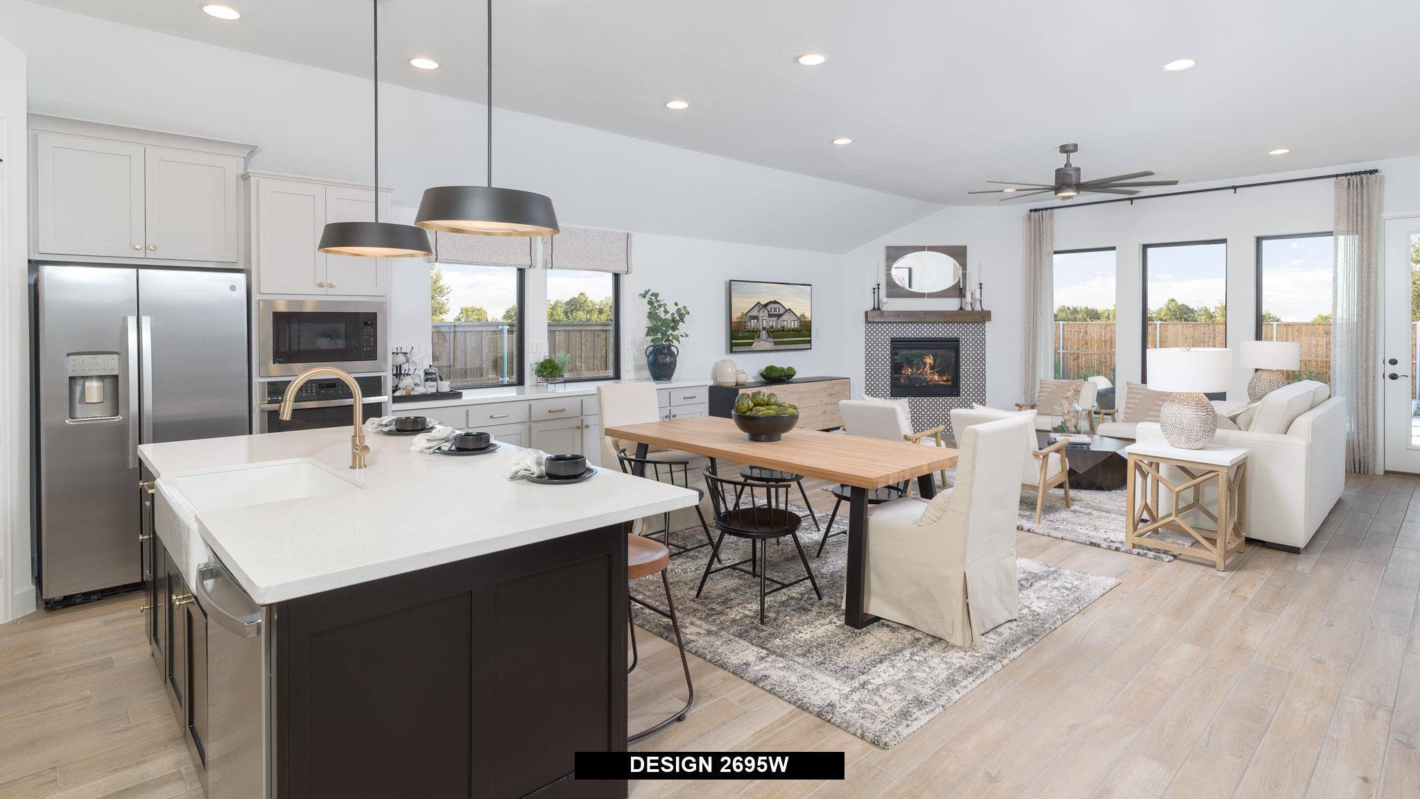 Kitchen featured in the 2695W By Perry Homes in San Antonio, TX