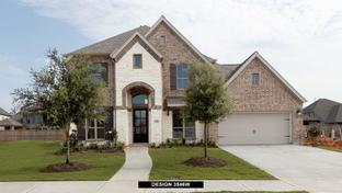 3546W - Candela 60': Richmond, Texas - Perry Homes